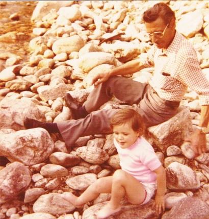 La Batie d'Andaure (07), 1978 - Source : papiers de famille