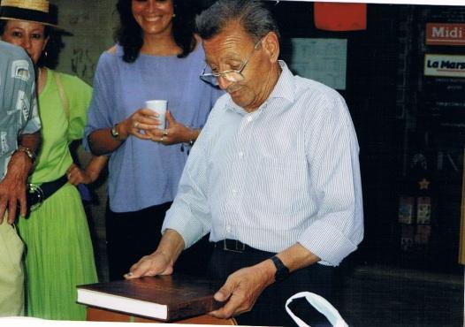 70 ans papé Albert, 1994 - Source : papiers de famille