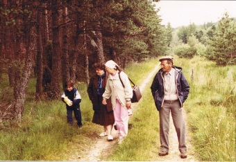 Le Chambon sur Lignon (43), 1981 - Source : photos de famille
