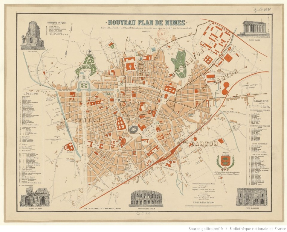 PlanNimes1854