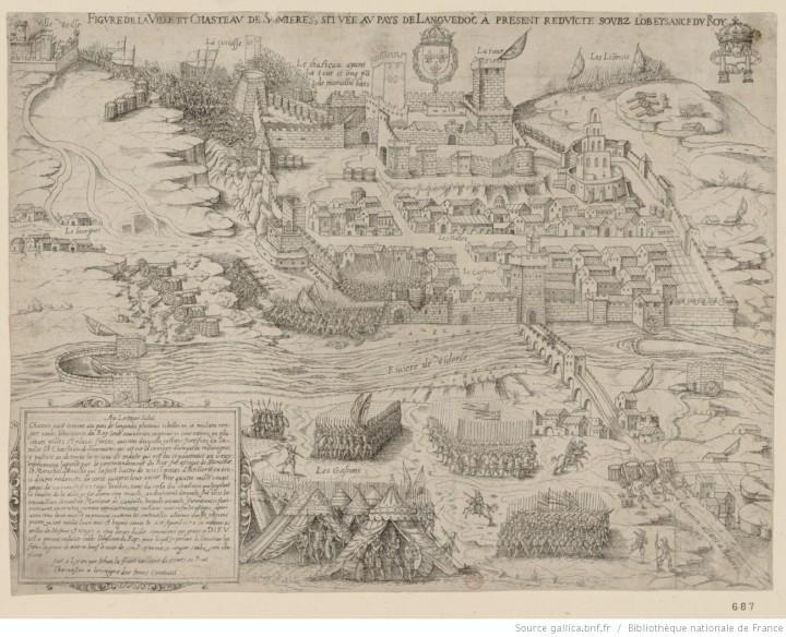 Gallica_Figure de la ville et chasteau de Somières située au pays de Languedoc à présent reduicte soubz l'obeysance du Roy