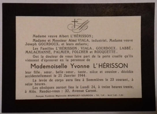 19440121_lherisson-yvonne-therese_ad_30-sommieres
