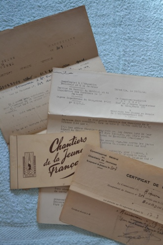 Documents Chantiers de jeunesse